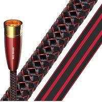 AudioQuest Red River XLR to XLR PVC Analog Audio Interconnect Cables - 6.56' (2m) - 2-Pack