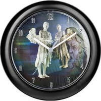 Doctor Who Lenticular Wall Clock Weeping Angel - Multi