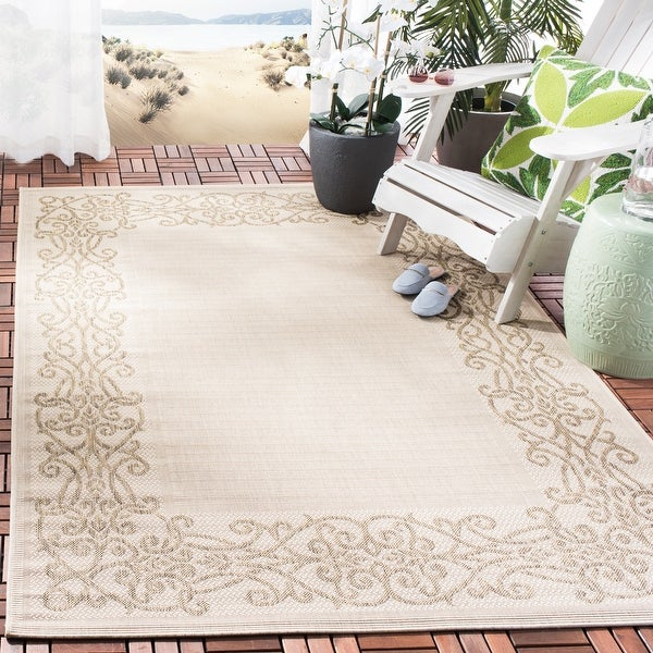 Safavieh Courtyard Marylou Indoor/ Outdoor Rug