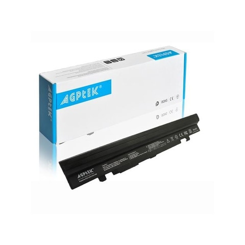 8 Cell Laptop Battery Replacement for Asus U46 Series, Asus U56 Series, A32-U46 5200mah Black