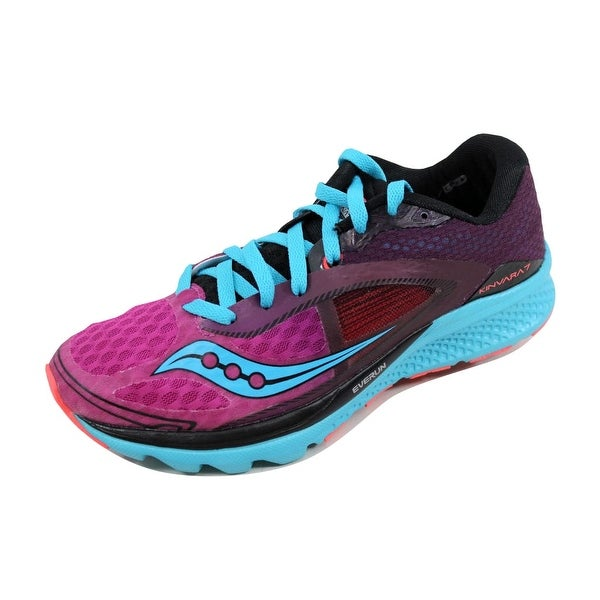 Saucony Women's Kinvara 7 Pink/Purple-Blue S10298-5
