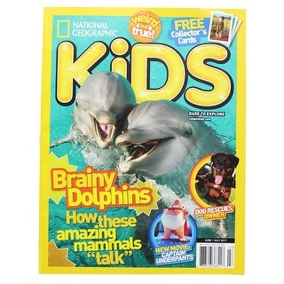 National Geographic Kids Magazine: Brainy Dolphins (June/July 2017) - multi