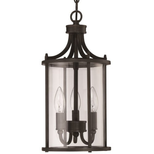 "Craftmade Z2811 Carlton 3 Light 8"" Wide Outdoor Multi Light Pendant"