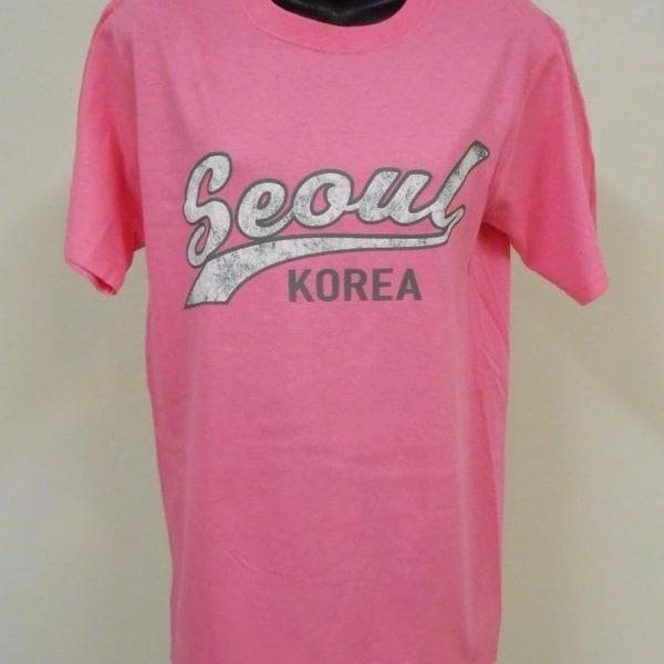 SEOUL SOUTH KOREA WOMENS SIZE S SMALL T-shirt 76HT
