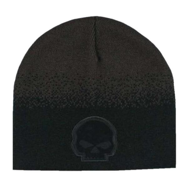 Shop Harley-Davidson Men s Willie G Skull Knit Beanie Hat 52e83cac064