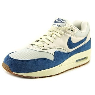 Nike Air Max 1 Women Round Toe Suede Ivory Running Shoe