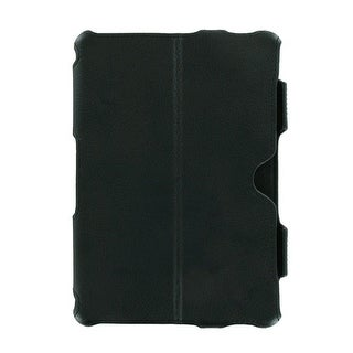 BlackBerry Playbook Leather Folio Flip Case (Black)
