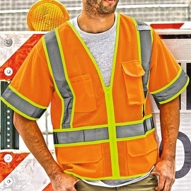 Ultra-Cool Mesh Surveyor's Safety Vest