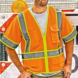Ultra-Cool Mesh Surveyor's Safety Vest (Option: Green)|https://ak1.ostkcdn.com/images/products/is/images/direct/60b3bff04f29c55d8809103d2b9e2f4bd1dcc23b/Ultra-Cool%E2%84%A2-Mesh-Surveyor%27s-Safety-Vest.jpg?impolicy=medium
