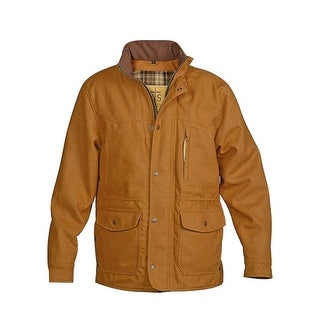 StS Ranchwear Western Jacket Mens Wool Zip Snap Smitty Camel STS8143