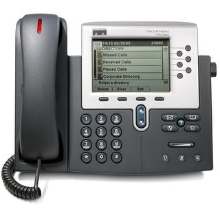 Refurbished Cisco CP-7960G-R 6-Line Unified IP Phone