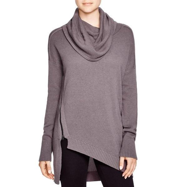 Love Scarlett Womens Pullover Sweater Asymmetrical Cowl Neck