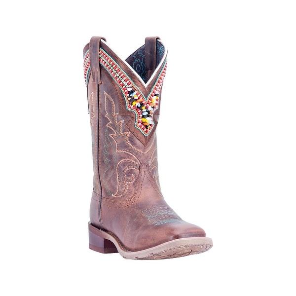 Laredo Western Boots Womens Stockman Beko Distressed Brown