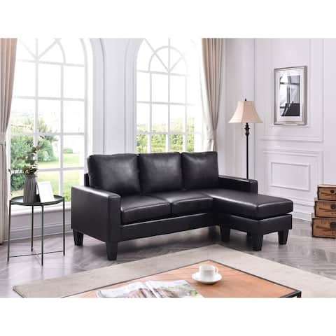 Jenna Small Sofa with Chaise Lounge