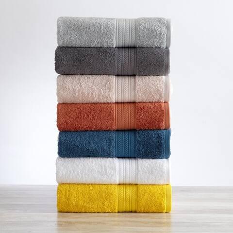 Great Bay Home Eco-Friendly Anti-Microbial Bath Towel Sets