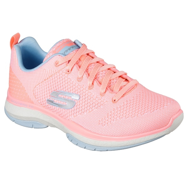 Skechers 12667 CRL Women's BURST TR-CLOSE KNIT Training