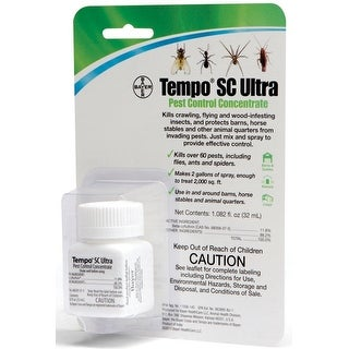 Bayer 80694254 Tempo SC Ultra Pest Control Concentrate, 32 ML