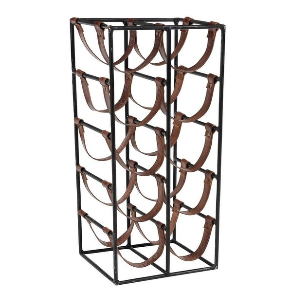 10-Bottle Wine Sling - 22 x 10 x 9 inches. Opens flyout.