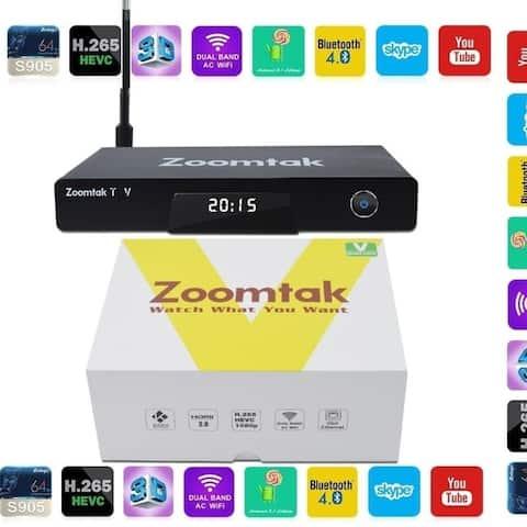 Zoomtak V Android TV Box Amlogic S905 Quad-core 64-bit 2g/16g