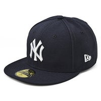 uk availability 39cf5 ba7b6 New Era Mens 2017 Mlb Game Authentic On Field 59Fifty Cap New York Yankees,  Navy