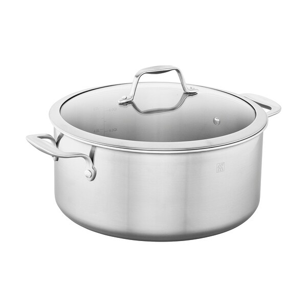 Shop Zwilling Spirit 3 Ply 8 Qt Stainless Steel Stock Pot