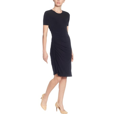 CATHERINE CATHERINE MALANDRINO Womens Wear to Work Dress Pullover Knee-Length