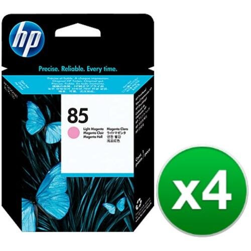 HP 85 Light Magenta DesignJet Printhead (C9424A) (4-Pack)