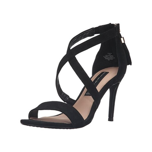 Steven By Steve Madden Womens Dress Sandals Suede Pumps - 8.5 medium (b,m)