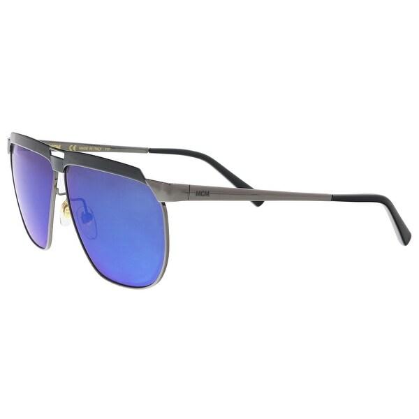 fd914d5712b0c MCM MCM113S 069 Dark Ruthenium Modified Rectangle Sunglasses - 61-9-145