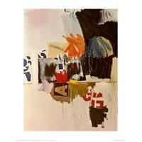 ''Summer Rental No. 2, 1960'' by Robert Rauschenberg Abstract Art Print (28 x 22 in.)