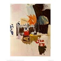 ''Summer Rental No. 2, 1960'' by Robert Rauschenberg Museum Art Print (28 x 22 in.)