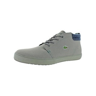 85feb2dc3 Shop Lacoste Mens Ampthill Terra 417 1 Casual Shoes Leather Ortholite -  Free Shipping Today - Overstock - 28078792