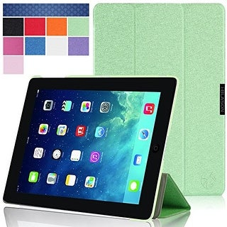 i-Blason, iPad Air 2 Case, i-Folio Slim Hard Shell Stand Cover for iPad Air 2- Green