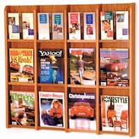 Divulge 12 Magazine/24 Brochure Wall Display with Brochure Inserts