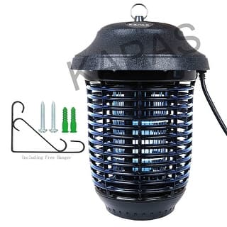 Bug Zapper with Hanger, Kapas 40W Outdoor Bug Killer Lantern for Mosquitoes, Flies, Gnats, Pests,1 Acre Coverage|https://ak1.ostkcdn.com/images/products/is/images/direct/60c65d38146afd9736f182acced2badeadd536cd/Bug-Zapper-with-Hanger%2C-Kapas-40W-Outdoor-Bug-Killer-Lantern-for-Mosquitoes%2C-Flies%2C-Gnats%2C-Pests%2C1-Acre-Coverage.jpg?impolicy=medium