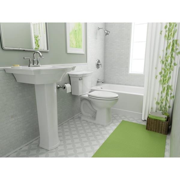 American Standard 0900 004 Estate 24 Pedestal Bathroom Sink Only With Overstock 16636604