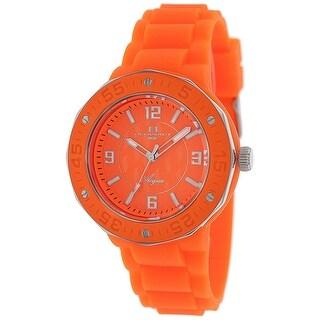 Oceanaut Women's Acqua OC0211 Orange Dial watch