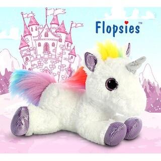 "12"" Flopsie Rainbow Unicorn High Quality Plush"