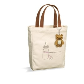 New Mommy Canvas Tote with Keyring