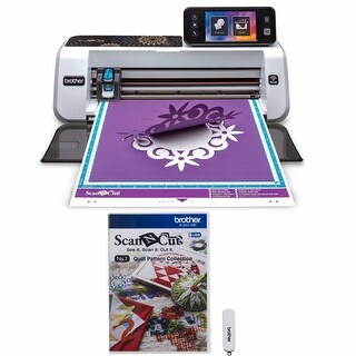 Brother ScanNCut2 Home and Hobby Cutting Machine + ScanNcut Quilt Pattern