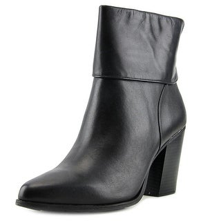 Alfani Lauree Women Pointed Toe Leather Ankle Boot