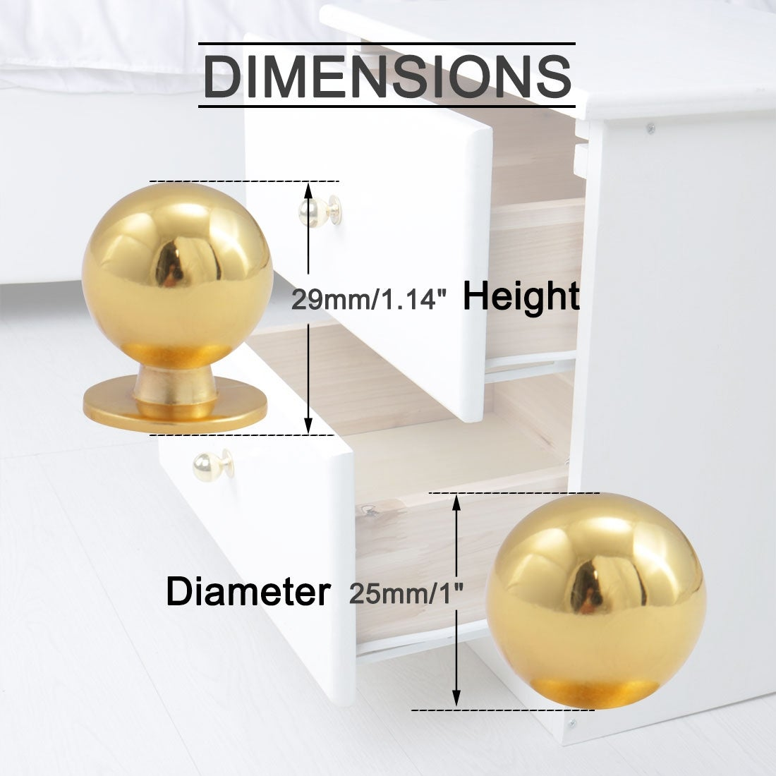 Rose Gold Unique Color Pull Handle Crystal Cabinet Drawer Door Knob DIY 1 Pcs