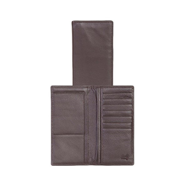Scully Western Mens Wallet Buttercalf Secretary Vertical Pockets - One size