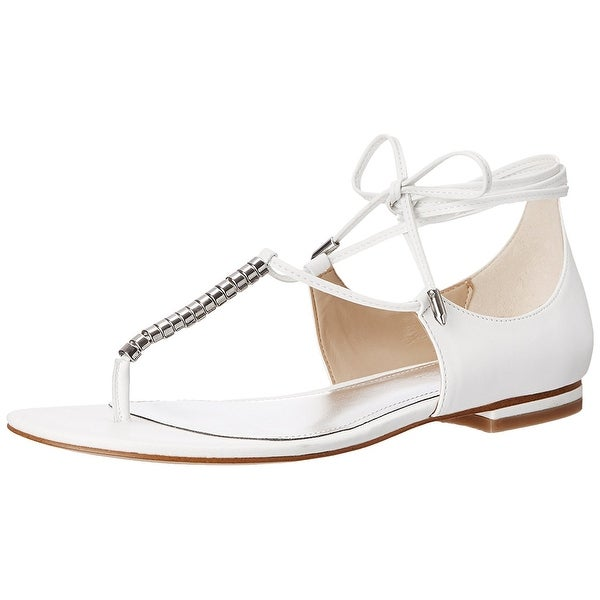 Marc Fisher Womens Extra3 Split Toe Casual Strappy Sandals