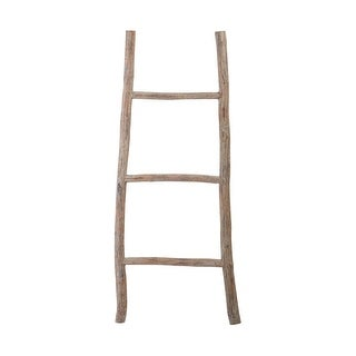 Dimond Home 594038 Wood White Washed Ladder - Small - Light Wood - N/A