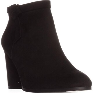 Bandolino Belluna Ankle Boots, Black Suede (More options available)