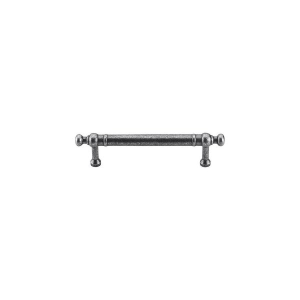 """Top Knobs M837-96 Somerset 3-3/4"""" Center to Center Bar Cabinet Pull from the Appliance Series - PEWTER"""
