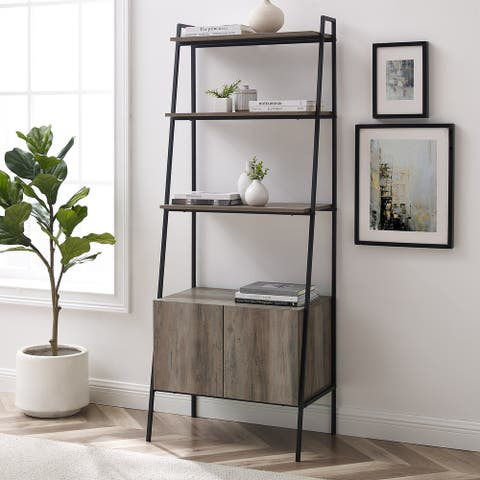 Carbon Loft Lahuri 72-inch Ladder Storage Bookshelf
