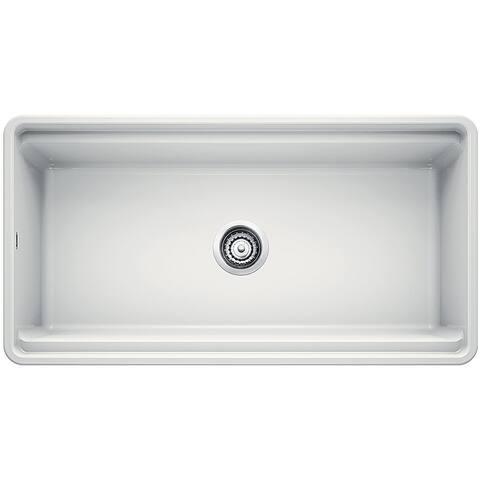 "Blanco PROFINA 36"" Apron Front Ceramic Sink White"