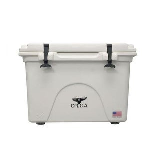 ORCA 58 Quart White Cooler with Handles